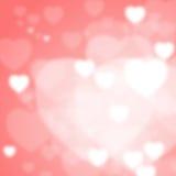 Valentine Bokeh Stock Image