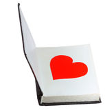 Valentine in the book Stock Photography