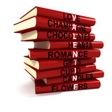 Valentine Books Royalty Free Stock Photo