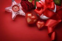 Valentine Border Design Stock Images