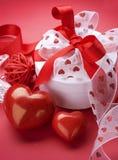 Valentine Border Design Royalty Free Stock Photography