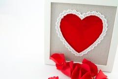 Valentine border Royalty Free Stock Image