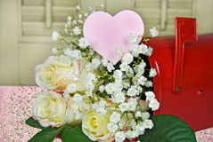Valentine Bouquet Stock Image