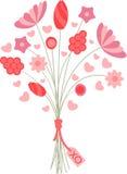 Valentine Bouquet Stock Photography
