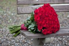 Valentine bouquet stock photos