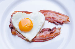 Valentine Breakfast Royalty Free Stock Photography