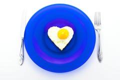 Valentine Breakfast Stock Photography