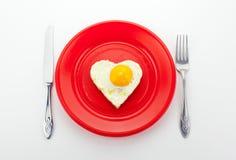 Valentine Breakfast Royalty Free Stock Photography