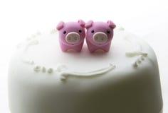 Valentine cake Stock Photography