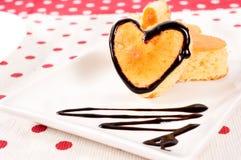 Valentine cake Royalty Free Stock Photo