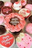 Valentine Cakes Stock Afbeelding
