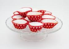 Valentine Cakes Royalty Free Stock Photography