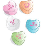 Valentine candies Stock Photos