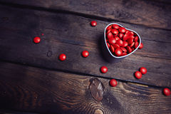 Valentine candies Royalty Free Stock Images