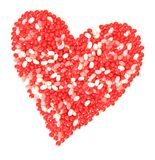 Valentine candy Stock Photography