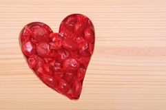 Valentine candy Stock Photos