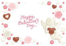 Valentine candy background Royalty Free Stock Photography