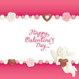Valentine candy background Royalty Free Stock Photo