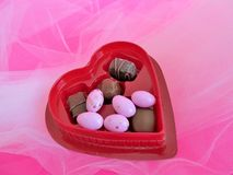 Valentine candy Royalty Free Stock Image