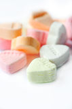 Valentine candy hearts Royalty Free Stock Photo