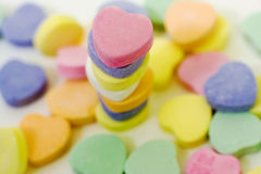 Valentine Candy Stack 4 Stock Photos