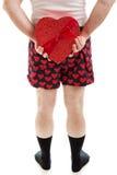 Valentine Candy Surprise imagem de stock royalty free