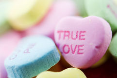 Valentine candy sweets Royalty Free Stock Photos