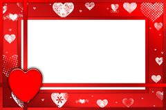 Valentine card. For all uses Royalty Free Stock Images