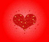 Valentine card Royalty Free Stock Photo