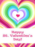 Valentine card Stock Image