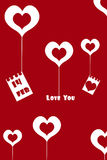 Valentine card Royalty Free Stock Image