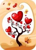 Valentine card Stock Photography