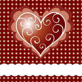 Valentine card Stock Photo