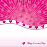 Valentine card Royalty Free Stock Photography