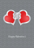 Valentine card Royalty Free Stock Photos