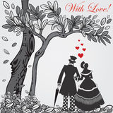 Valentine card. Royalty Free Stock Photos