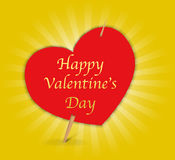 Valentine card Stock Photography