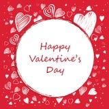 Valentine Card Royalty-vrije Stock Foto's