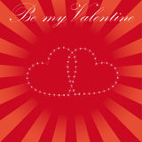 Valentine card Stock Photos
