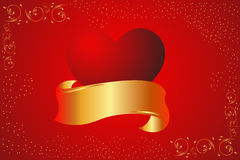 Valentine card background Stock Images