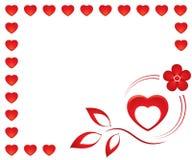 Valentine card1 Stock Photo