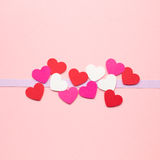 Valentine card. Royalty Free Stock Photography