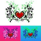 Valentine card decor. Royalty Free Stock Photography