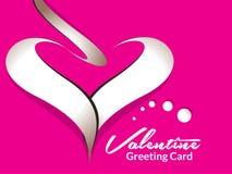 Valentine Card Design Fotografía de archivo libre de regalías