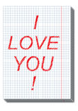 Valentine card Stock Photos