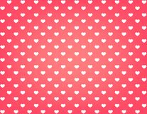 Valentine card hearts vector  background Royalty Free Stock Photography