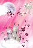 Valentine Card No4 Royalty Free Stock Image
