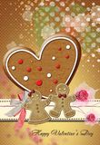 Valentine Card No5 Stock Photo