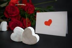 Valentine card 4 Royalty Free Stock Image