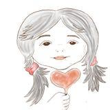 Valentine stock photo